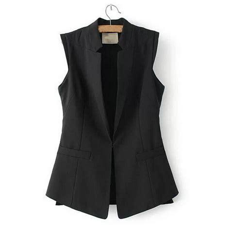 Jaket Sweater Wanita Lengan Panjang Jaket Srf Black 2015 merek baru musim semi womens korean rompi mantel resmi atas cardigan panjang hitam tanpa