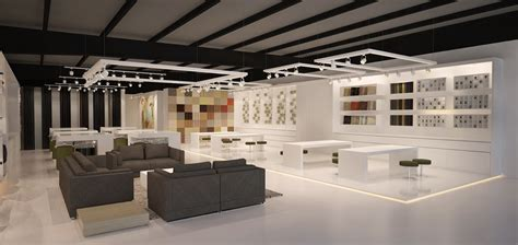archictect architecture works modern furniture showroom