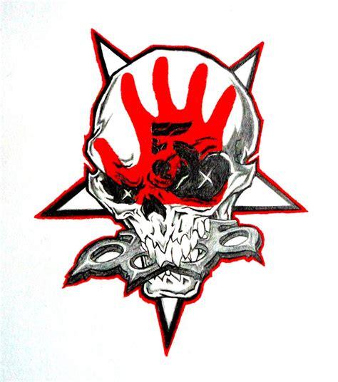 five finger death punch skull by crossfade528 on deviantart