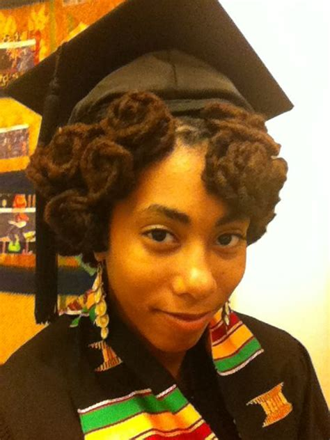Dreadlocks Hairstyles For Graduation | 1000 images about graduation hairstyles on pinterest