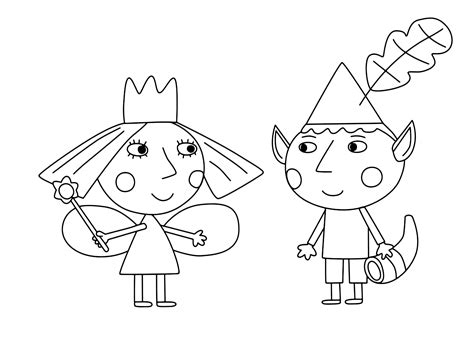 princess holly coloring pages quot ben holly s little kingdom quot coloring pages