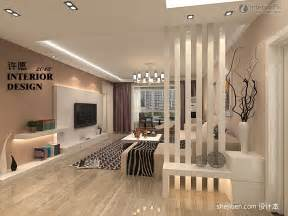 Living Room Partition Designs by Modern Style Living Room Partitions Decorated Picture