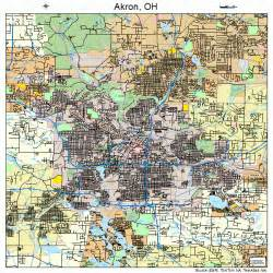 Akron Ohio Map by Akron Ohio Map Images