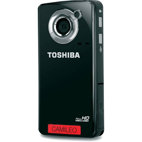 Toshiba Cameleo Comcoder toshiba camileo b10 hd camcorder pa3961u 1cam b h photo