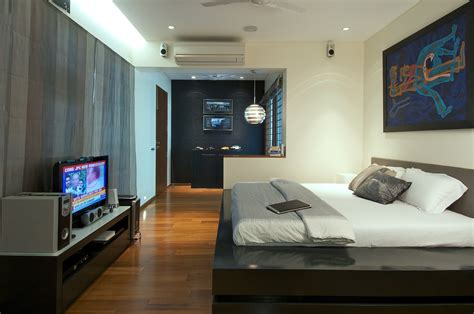 Mens Bedroom Ideas Gallery Of Dinesh Mills Bungalow Atelier Design N Domain 6