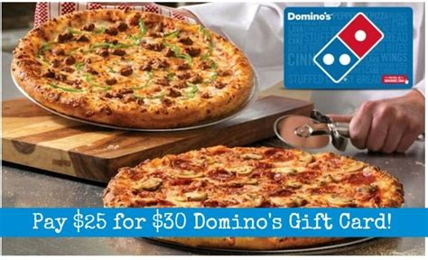 Check Dominos Gift Card - 30 domino s gift card only 25 become a coupon queen