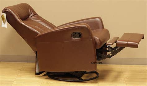 Recliner Chair And Stool Set by Barcalounger Grissom Ii Swing Rocker Glider Recliner
