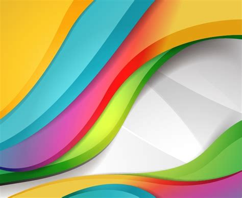 colorful design colorful design wave background free vector graphics