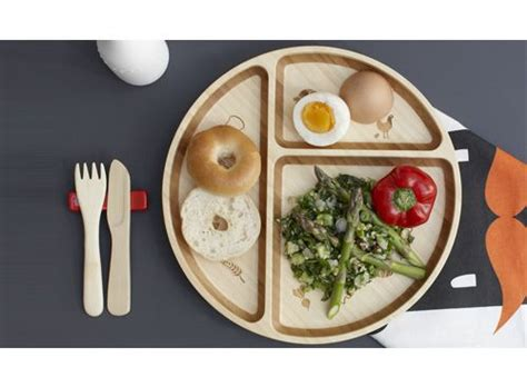 sectioned plates for adults eco friendly and organic divided bamboo plate showing