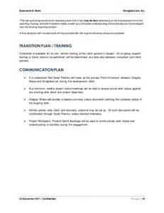 a template for understanding what s going on software project statement of work document sle