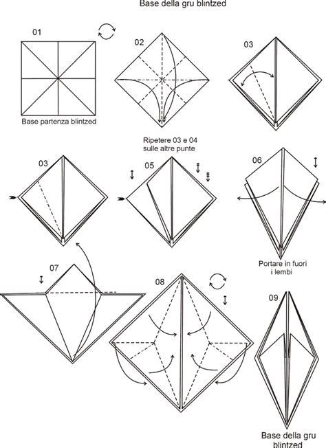 origami gabbiano modelli di fiori di carta az colorare