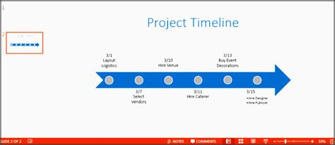 6 Project Plan Powerpoint Layout Sletemplatess High Level Timeline Template