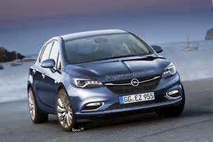Opel K Rendered Opel Astra K 1 Images Rendered Opel Astra K