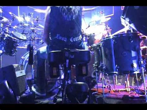 view from behind journey's drummer deen castronovo youtube