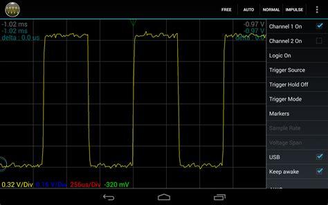 android oscilloscope g4fre radio 20 oscilloscope android