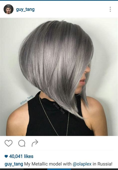 side view pictures of angled bobs 1000 ideas about long angled bob hairstyles on pinterest