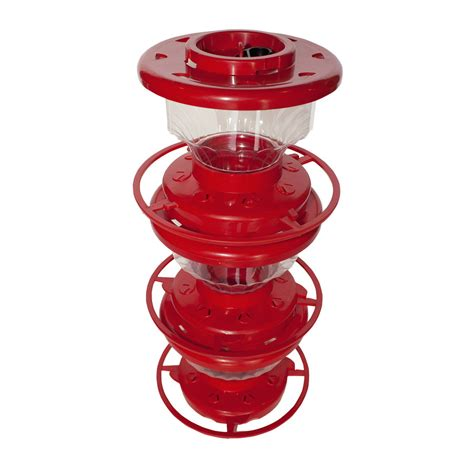 shop first nature stackable hummingbird feeder at lowes com