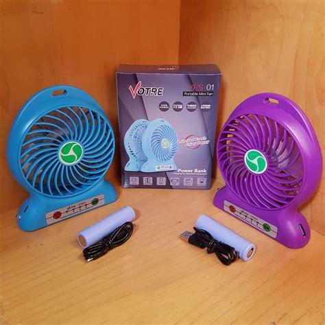 votre yfs01 portable mini fan kipas angin bulat