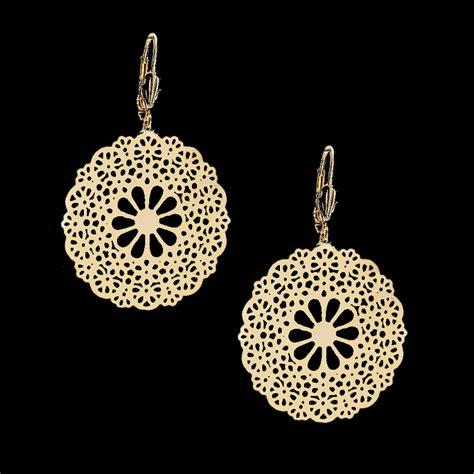 how to make filigree jewelry 18kt gold layered filigree earrings oro laminado