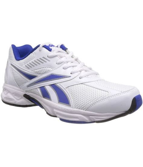 Reebok Running Abu No 42 reebok white mesh running sport shoes pair of 3 adidas