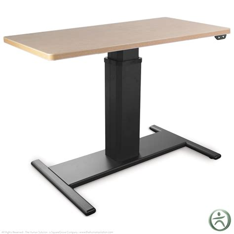 desks adjustable height shop sis move electric height adjustable desks rectangle