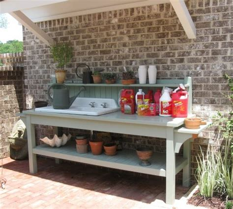potting bench plans with sink potting bench with sink plans kitchen cabinets plans