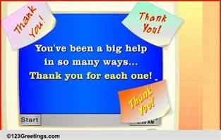Thank You Note To Colleague Thank You Colleague Quotes Quotesgram