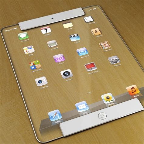designer pad a see through ipad design designtaxi com