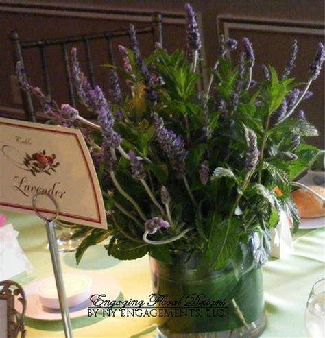 Potted Lavender Wedding Centerpieces Budget Brides Guide Lavender Centerpieces For Weddings