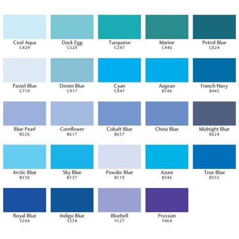 light blue color names cyan blue pantone search visual inspiration