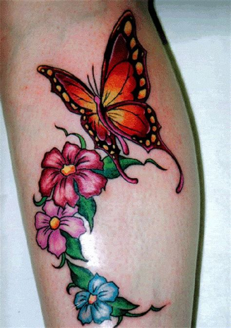 50 butterfly tattoos with flowers for women butterfly