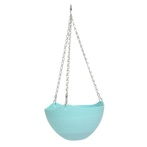 Plastic Hanging Planter by Plastic Plant Planter Hanging Pot Chain Balcony Decor