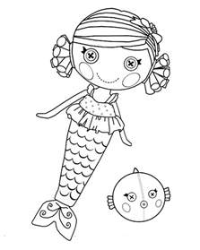 pics photos sparkles lalaloopsy coloring printable pages kids related