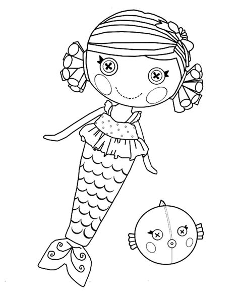 Free Printable Coloring Pages Lalaloopsy