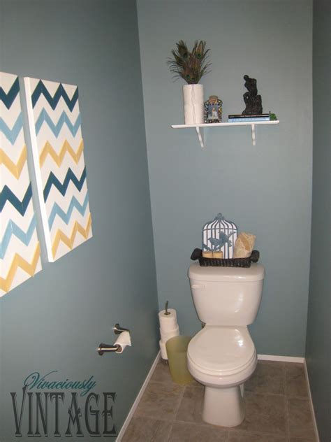 ansley designs half bathroom update