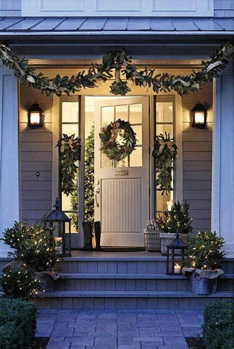 home front decor ideas 20 ways to decorate your porch for christmas page 2 of 5