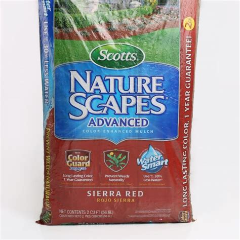 scotts nature scapes mulch 2 cu ft schubert