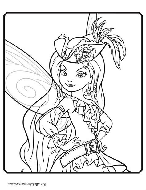 free coloring pages of female pirate