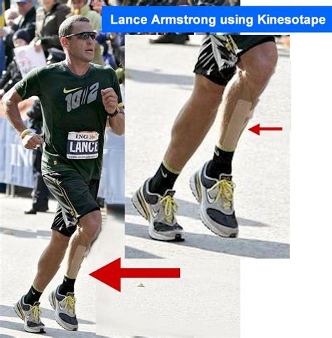 Nyc Marathon Was The Hardest Physical Thing Lance Armstrong Did by Kinesio Taping Kinesiotape Therapy Annapolis Maryland