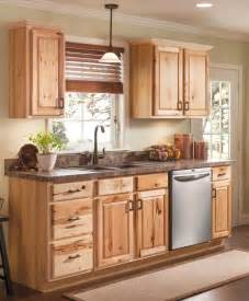 25 best ideas about hickory kitchen cabinets on