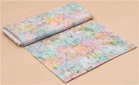 Pastel Color Batik 12061 pastel color robert kaufman circle oval tie dye batik look fabric scribbles dots stripes