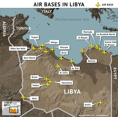 us air force bases in africa map pro government forces seek greater air power in libya