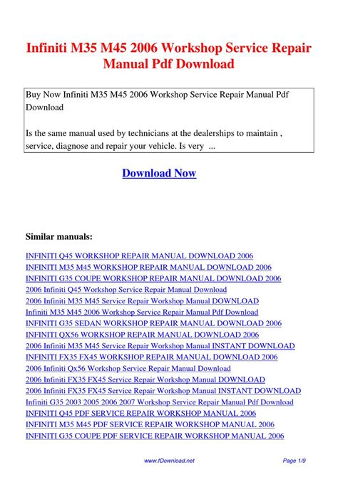 book repair manual 1992 infiniti q navigation system service manual 2006 infiniti m35 m45 service repair workshop manual 2006 infiniti m35 m45
