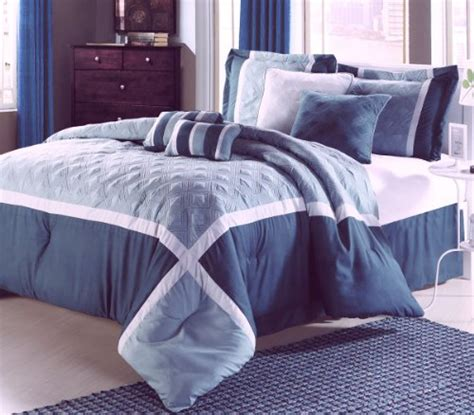 bed in a bag queen comforter sets bedding bed quincy blue aqua 8 piece queen comforter