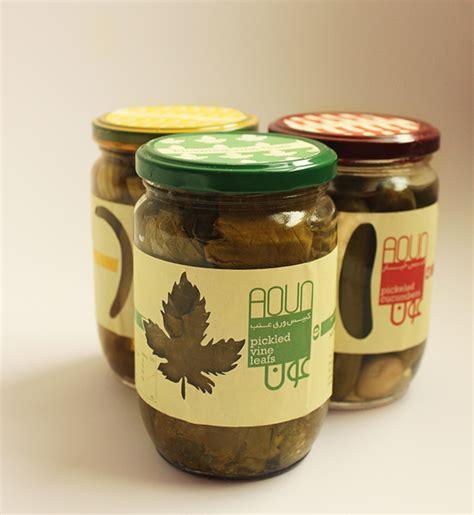 kilhaney s pickle label design on behance aoun pickles packaging on behance