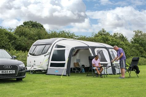 large caravan awning ka frontier air pro large inflatable caravan awning