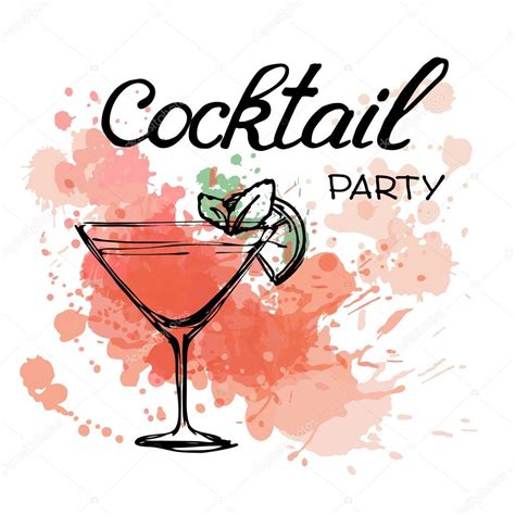 cocktail party photography cocktail party uitnodiging poster stockvector 169 o ta