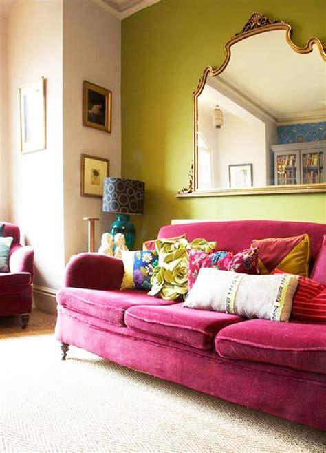 times  pink sofa   room designsponge