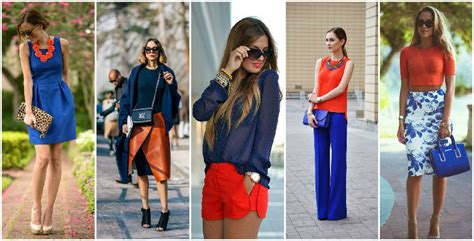 orange and blue combination 10 perfect color combinations which are running the trend