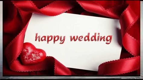 Happy Wedding wishes, SMS, Whatsapp video, congratulations